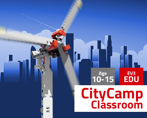 CityCamp Mindstorms EV3 Education na Classroom