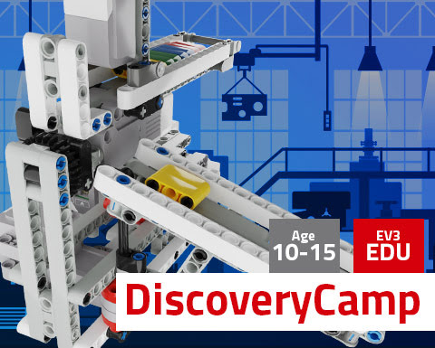 DiscoveryCamp Mindstorms EV3 Education
