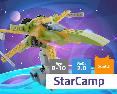 StarCamp WeDo 2.0 Scratch